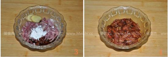 蒜苔炒肉丝的做法图解