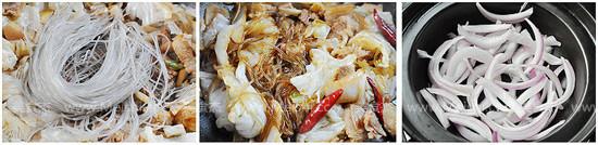 砂锅白菜炖粉条的家常做法