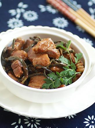干豆角燉五花肉的做法