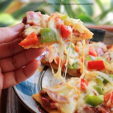 意式肉酱培根披萨