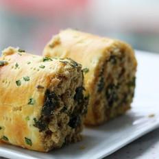 肉松海苔面包卷