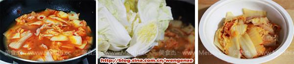 辣白菜五花肉煲的做法图解