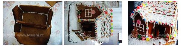 圣诞姜饼屋的简单做法