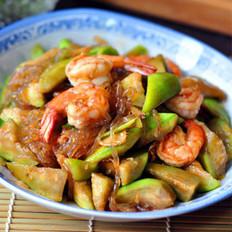 丝瓜炒大虾