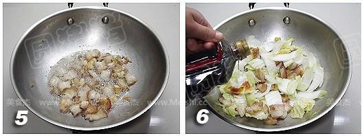 砂锅娃娃菜的家常做法