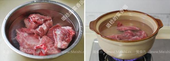 玉竹白果排骨汤的做法图解