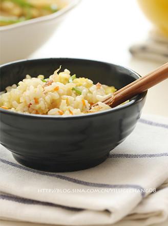 雜蔬蛋炒飯的做法