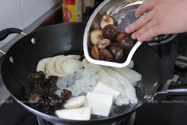 菌菇豆腐幸福炖的家常做法