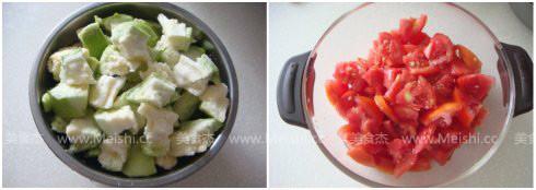西红柿烧茄子的做法大全