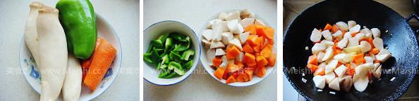 清炒胡萝卜杏鲍菇的做法大全