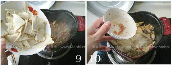 干锅千页豆腐怎么吃