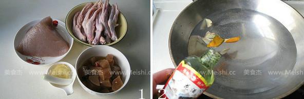 酸萝卜鸭掌魔芋汤的做法大全