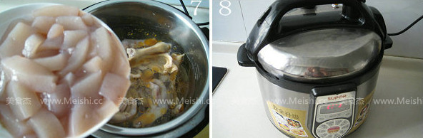 酸萝卜鸭掌魔芋汤的简单做法