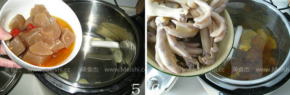 酸萝卜鸭掌魔芋汤的家常做法