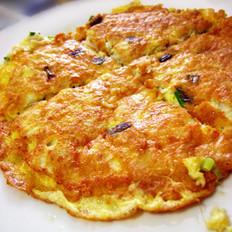 蟹肉摊鸡蛋