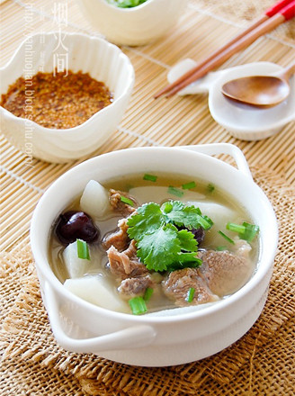 萝卜羊肉汤的做法