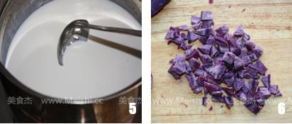 紫薯蛋挞的家常做法