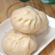 豆浆圆白菜鲜肉包