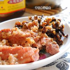 干豇豆粉蒸腐乳肉