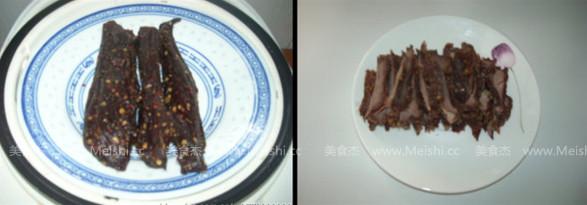 藜蒿炒牛肉干的做法大全