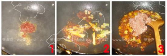 香辣榨菜肉丝面的家常做法