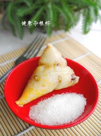 健康雜糧粽的做法