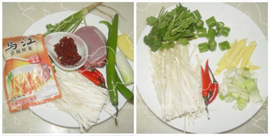 香辣榨菜肉丝面的做法大全