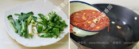 青椒炒猪肝的简单做法