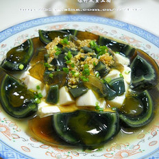 凉拌皮蛋豆腐