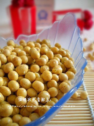 孜然香酥豆的做法