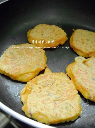 蔥香胡蘿卜絲餅的做法