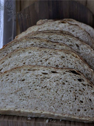 麸皮黑麦黑啤面包的做法
