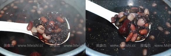 黑米红枣杂豆粥的简单做法
