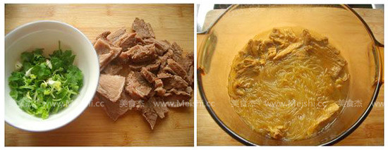 咖喱牛肉粉丝汤的家常做法