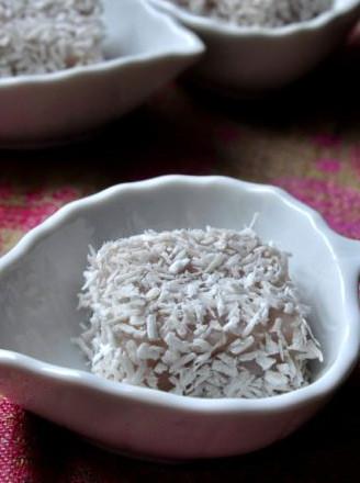 山藥梅子糯米涼糕的做法