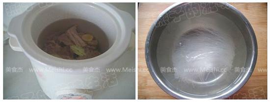咖喱牛肉粉丝汤的做法图解
