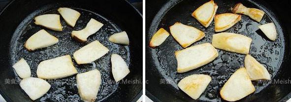 香煎黑椒杏鲍菇的做法图解