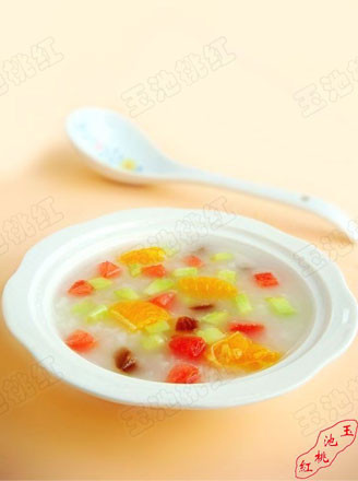 什錦水果粥的做法