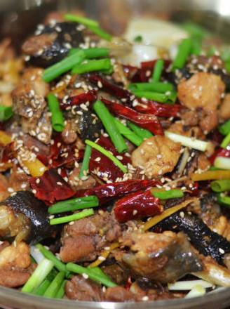 非传统干锅辣子鸡的做法