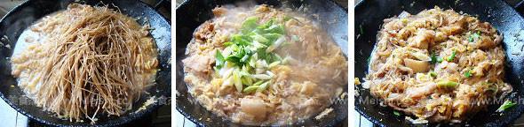 猪肉酸菜炖粉条的家常做法