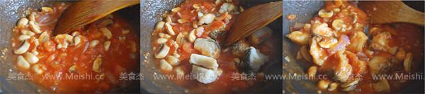 番茄蘑菇烧鱼块的简单做法