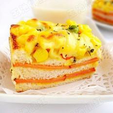 玉米火腿三明治