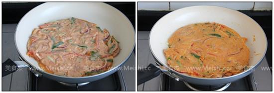 泡菜饼的简单做法