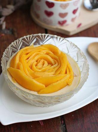 芒果蛋奶布丁的做法
