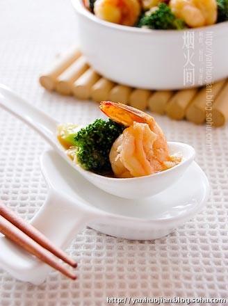 翡翠蝦球的做法