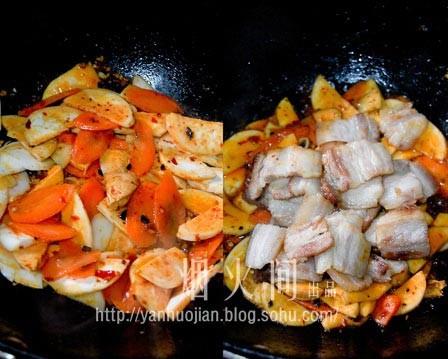 川味家常回锅肉的简单做法
