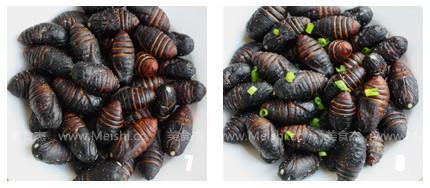 挂霜蚕蛹的简单做法