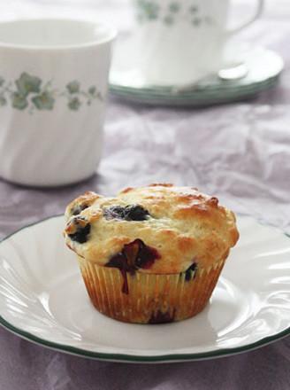 蓝莓酸奶玛芬蛋糕的做法
