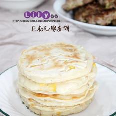 玉米火腿蛋饼