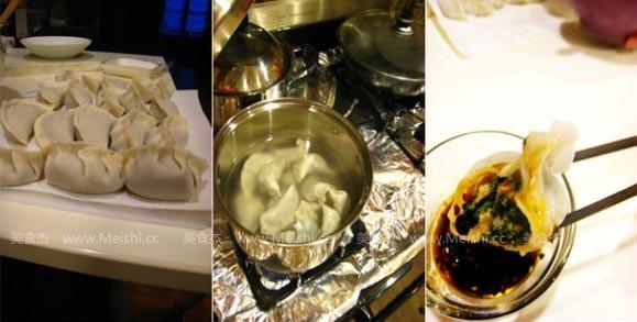 荠菜水饺的做法图解